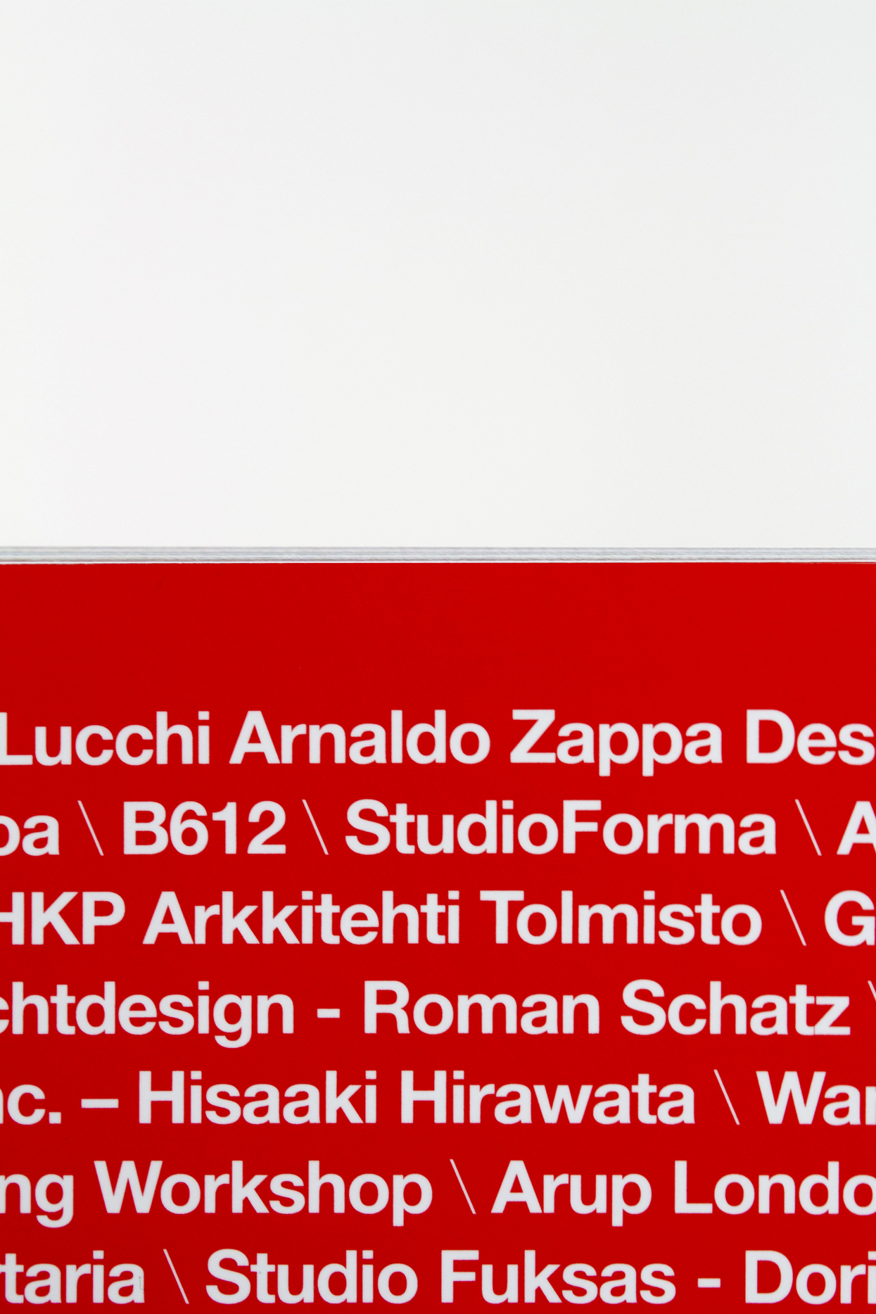 Retro cover iGuzzini Lighthinking, rivista aziendale iGuzzini